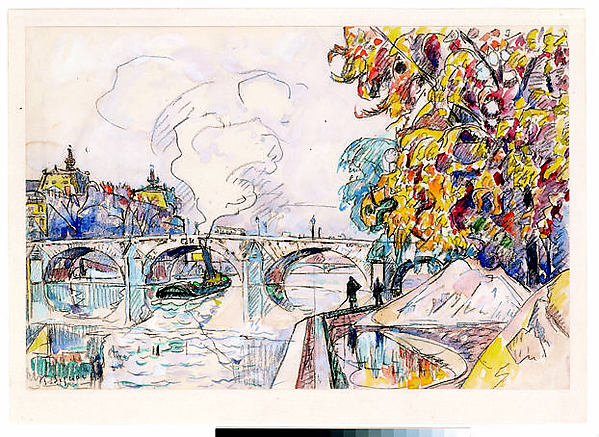 Paris: Pont Royal and the Gare d'Orsay