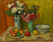 Red Flowers and Fruit