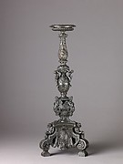 Candelabra Supported by Putti (pair with .1381)