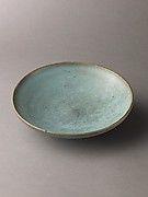 Shallow dish, Jun ware