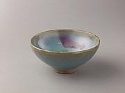 Deep bowl, Jun ware