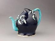 Peach-shaped wine pot or teapot
