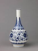 Bottle-shaped vase