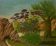 Bank of Flowers in a Landscape (Massif de fleurs dans un paysage)