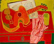 """Guitar (""""Le Pauvre Laboureur"""")"""