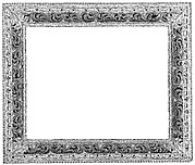 Wreath frame (pair with 1975.1.2127)