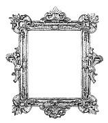 High Baroque frame