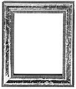 Ogee ripple frame