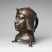 Aquamanile in the Form of a Human Head
