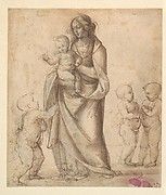 Madonna and Child with the Infant Saint John the Baptist and Two Putti