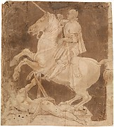 Study for the Equestrian Monument to Francesco Sforza