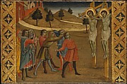 The Stoning of Saints Cosmas and Damian