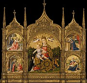 Madonna of Humility, the Annunciation, the Nativity, and the Pietà