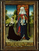 Virgin and Child with Saint Anne Presenting Anna van Nieuwenhove
