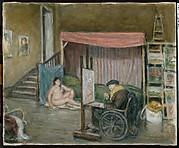Renoir and His Model