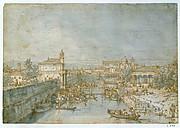 Padua: The River Bacchiglione and the Porta Portello