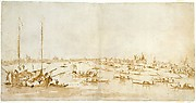 Panaromic View of the Bacino di San Marco, Looking up the Giudecca Canal