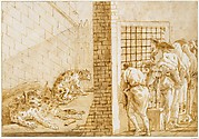 The Leopards' Cage at the Menagerie