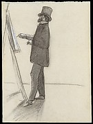 Manet and his Easel