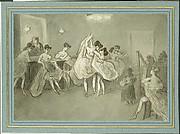 Women Dancing in a Brothel