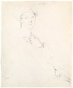 Portrait of Madame Rhode (?) [Madame Rhoda (?)]
