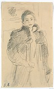 Study for &quot;Young Girl in a Green Coat&quot;