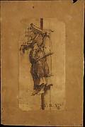 Elsje Christiaens Hanging on a Gibbet