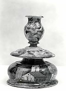 Maiolica: Candlestick (candeliere)