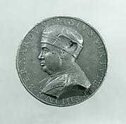 Medal:  Bust of Bernardo Nasi