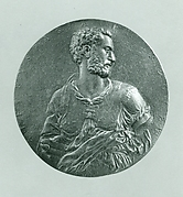 Medal:  Self-portrait