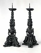Altar candlestick (pair with 1975.1.1383)