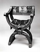 Hip-joint armchair (Dantesca type, associated with 1975.1.1975 a,b)