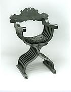 Folding armchair (sedia a Savonarola)