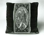 Orphrey section made into cushion