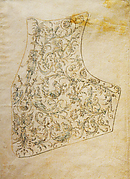 Design for the Breastplate of a Suit of Armor