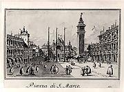 Piazza San Marco, Looking toward the Basicila