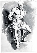 A Seated Slave