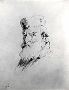 Bearded Man Wearing a Cap