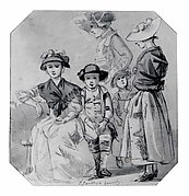 Thomas Sandby and His Family