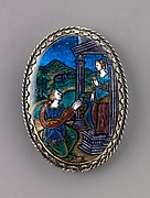 Watchcase cover: Alcyone Praying to Juno