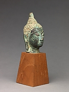 Head of the Buddha (from group of thirteen, 1975.1.1429-41)