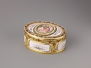Snuffbox with An Allegory of Geography