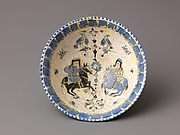 "Bowl, Mina'i (""enameled"") ware"