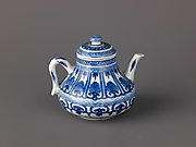 Small covered wine pot or teapot