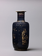 Club-shaped vase