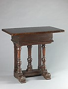 Rectangular table (pair with 1975.1.1949)