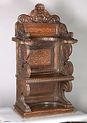 Choir chair