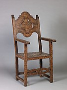 High-back chair (pair with 1975.1.1999)