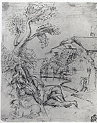 Landscape with a Shepherd in Repose