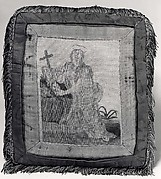 Cushion with Mary Magdalen